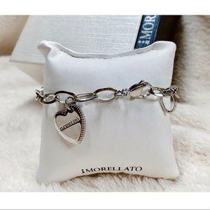 Morellato heart charm bracelet